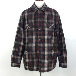 Authentic GAP Clothing Oversized Plaid Flannel Wool Shirt Jacket